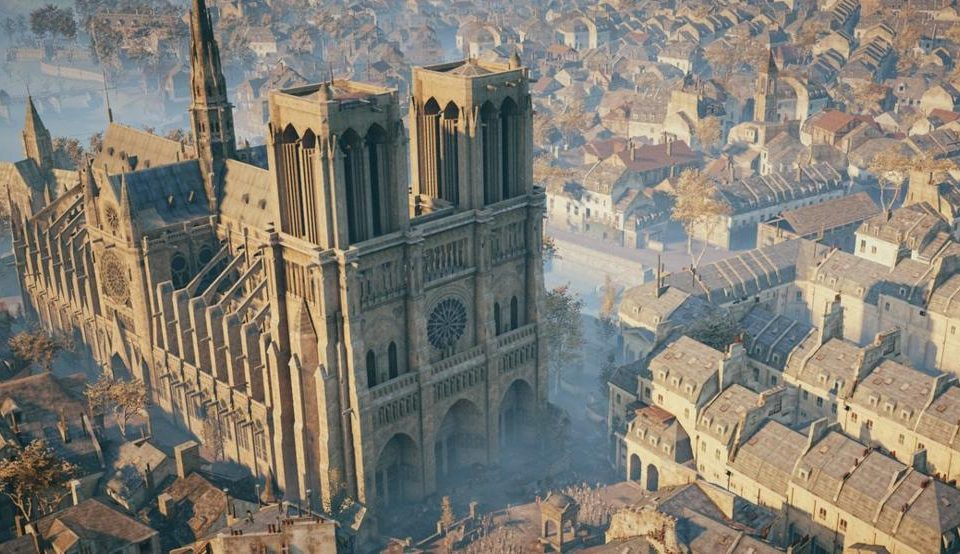 Notre Dame y Assasin´s Creed